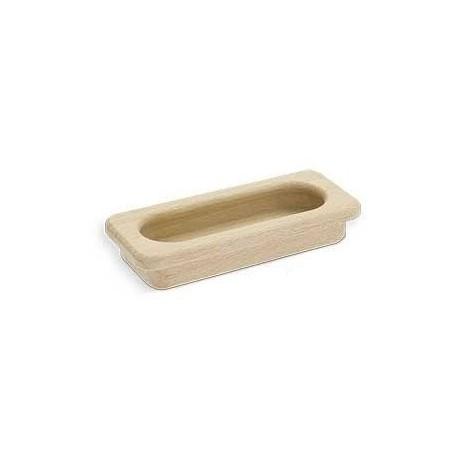 MUŠLE  SIRO dřevěná zápustná úchytka